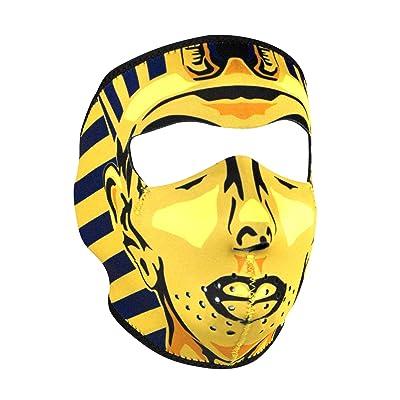 ZANheadgear Neoprene Full Face Mask, King Tut