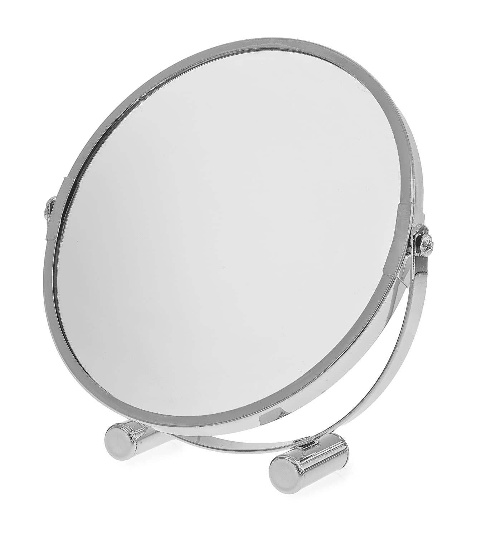 Blue Canyon Free Standing Small Platform Swivel Shaving/ Make Up Mirror BA-121