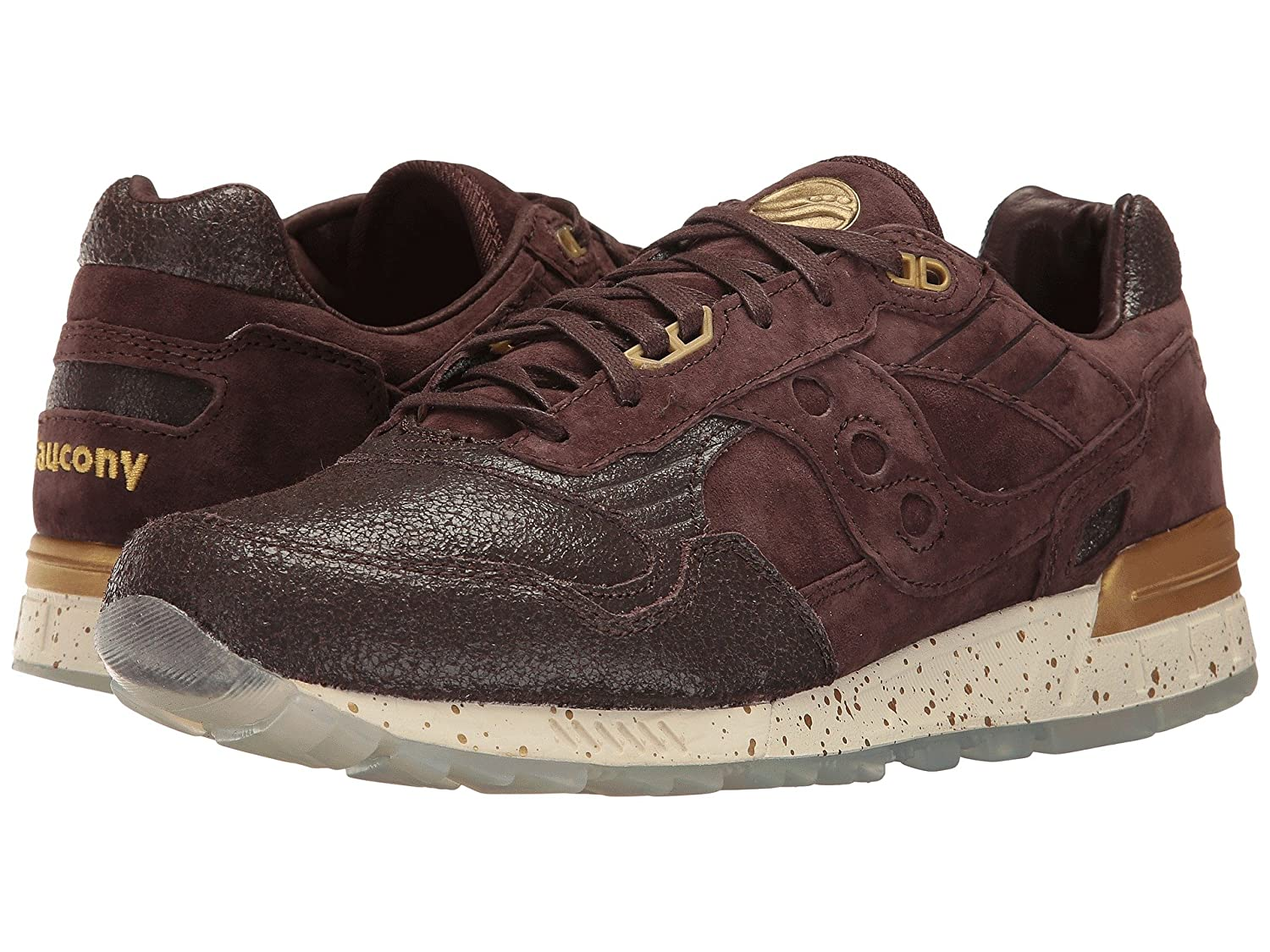 best service b3fe5 c435b Saucony Mens Shadow 5000 Low Top Lace Up Fashion Sneakers