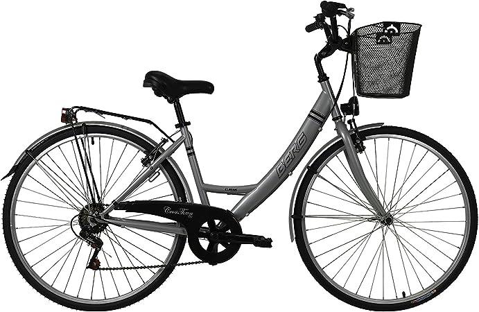 Berg Cycles Bicicleta Crosstown C1 700Cc Plateado 20 (L): Amazon.es: Deportes y aire libre