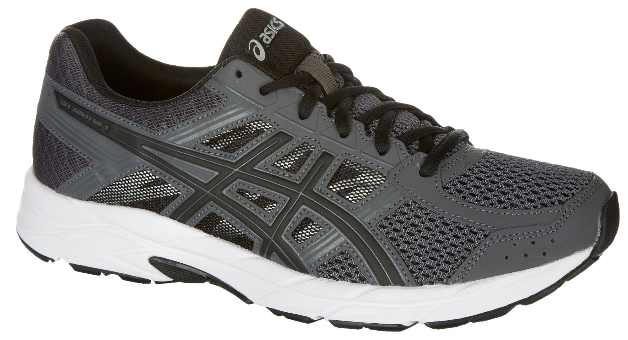 ASICS Mens Gel-Contend 4 Running Shoe, Dark Grey/Black/Carbon, 7.5 Medium US