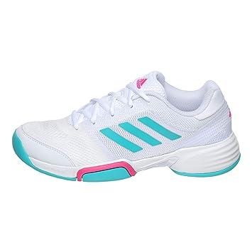 d0ab05d81d3 adidas Mujeres Barricade Club Carpet Zapatillas De Tenis Zapatilla para  Pista Cubierta Blanco - Turquesa 44  Amazon.es  Deportes y aire libre