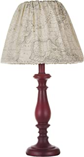 product image for Glenna Jean Air Traffic, Lamp with Cloth Shade, Blue/Red