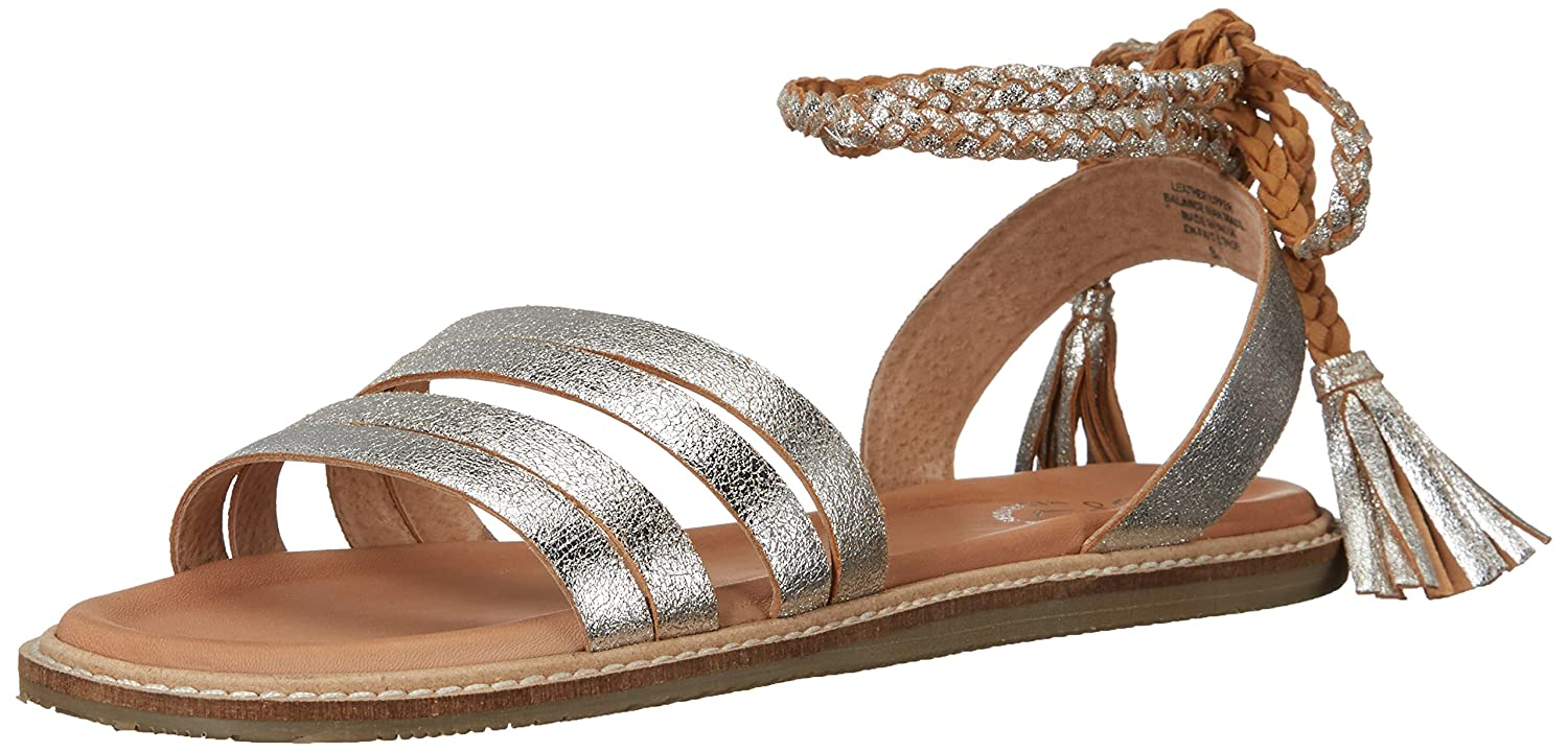 Seychelles Women's Botanical Dress Sandal B01L7RNGOG 10 B(M) US|Silver