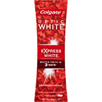 Colgate Optic White Express White Fresh Mint Whitening Toothpaste with Hydrogen Peroxide, 85 grams