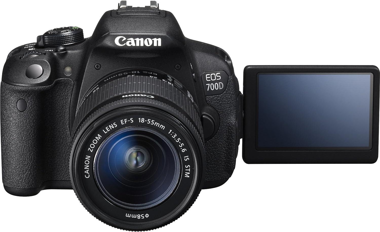 Canon EOS 700D - Cámara réflex Digital de 18 MP (Pantalla 3 ...