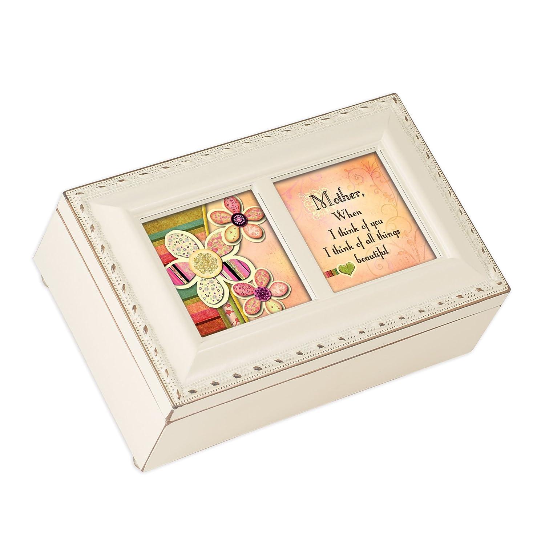 【5%OFF】 Mother All Things Beautiful B0090R6UUS Life Ivory Cottage Garden Beautiful Petite Music Box Plays Light Up My Life B0090R6UUS, 内外治療院:e42f900c --- arcego.dominiotemporario.com
