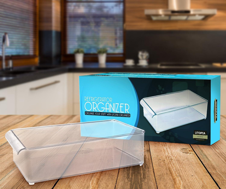 Mini Kühlschrank Mit Jelent : Klar kühlschrank organizer u küche pantry u schrank aufbewahrung
