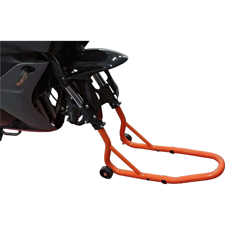 Hi-Q Tools Support De Montage Moto Pied Atelier Fourche Avant Toute lann/ée Multipurpose Unisexe Orange