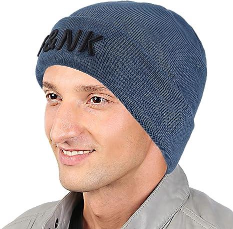 F&NK Gorro de Lana para Hombre y Mujer, cálido, cómodo, Grueso ...