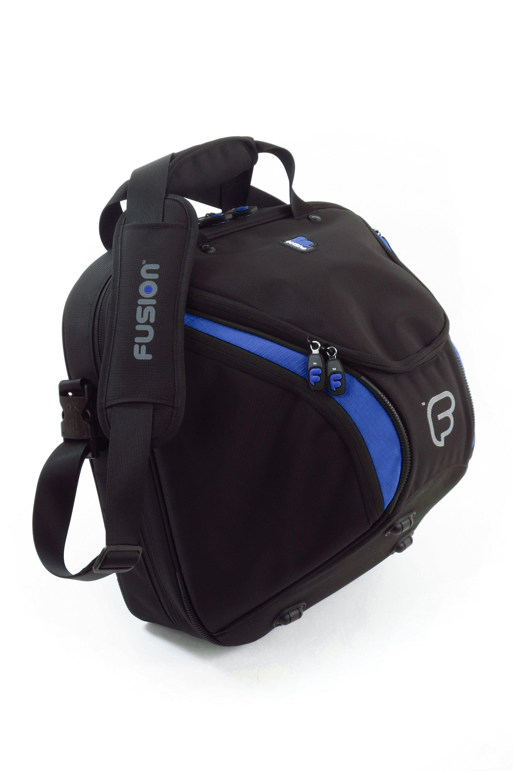 Fusion Premium Series - French Horn Gig Bag, Black/Blue