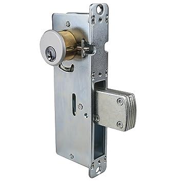 Global Door Controls 1-1/8 in. Aluminum Mortise Lock with Deadlock Function  sc 1 st  Amazon.com & Global Door Controls 1-1/8 in. Aluminum Mortise Lock with Deadlock ...