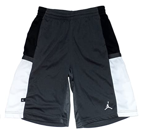 d742b1f3fd006 Amazon.com: Jordan Boys Youth Bankroll Basketball Shorts Anthracite ...