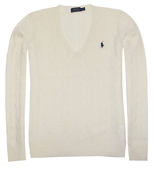 Polo Ralph Lauren Womens Merino Wool Sweater at Amazon Women s Clothing  store  a520b83ab