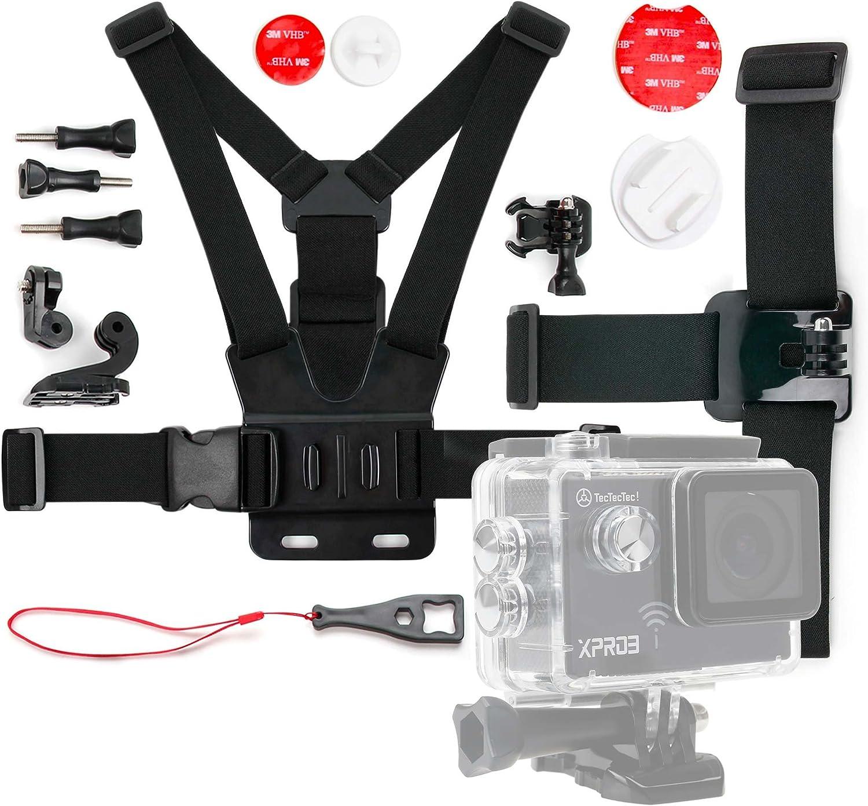 DURAGADGET Kit de Accesorios para Cámara de acción/Deportiva NK AC3078-360: Amazon.es: Electrónica
