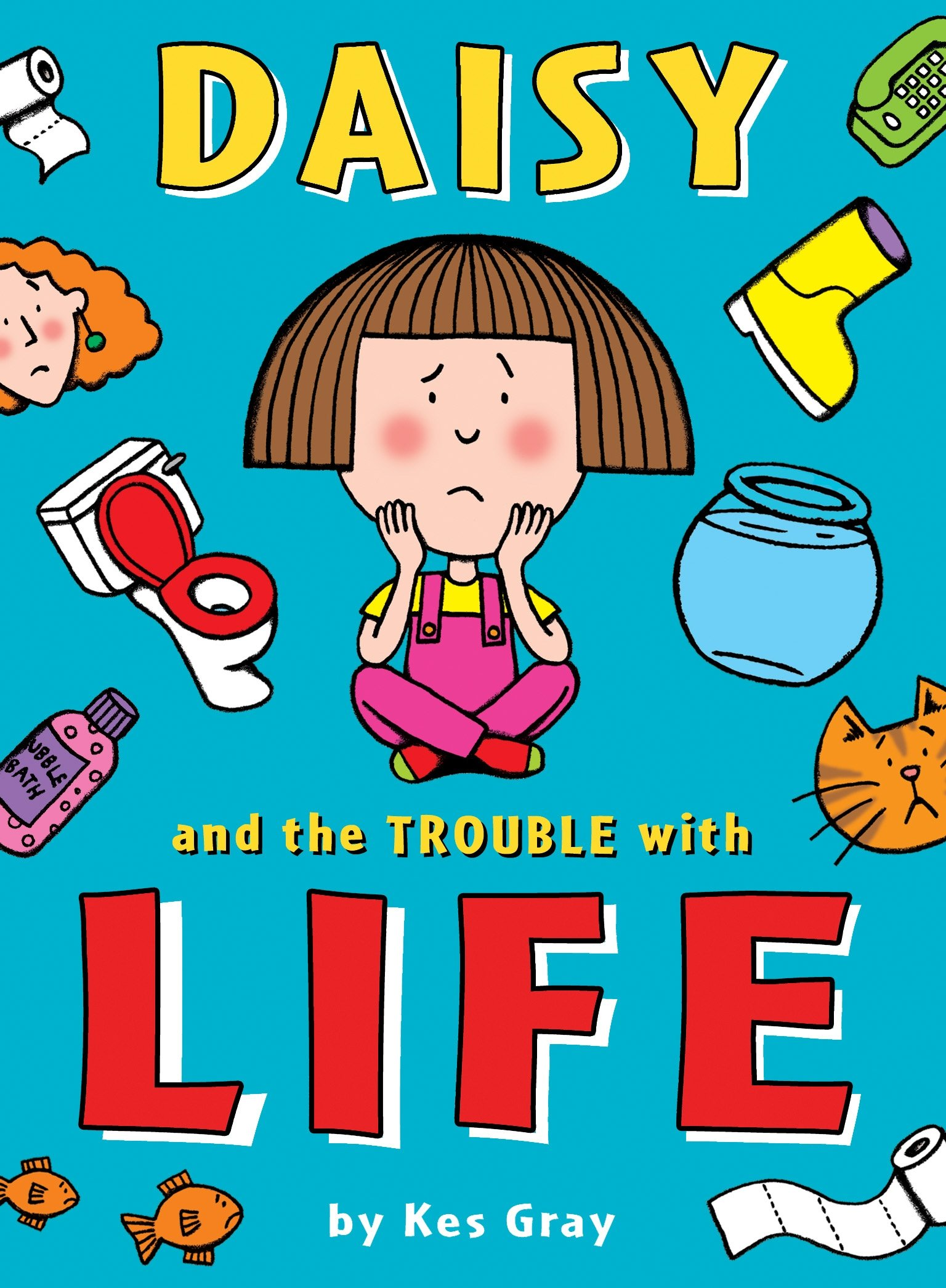 The Best Chapter Books for 1st Graders featured by top Seattle lifestyle blogger, Marcie in Mommyland: Daisy and the Trouble With
