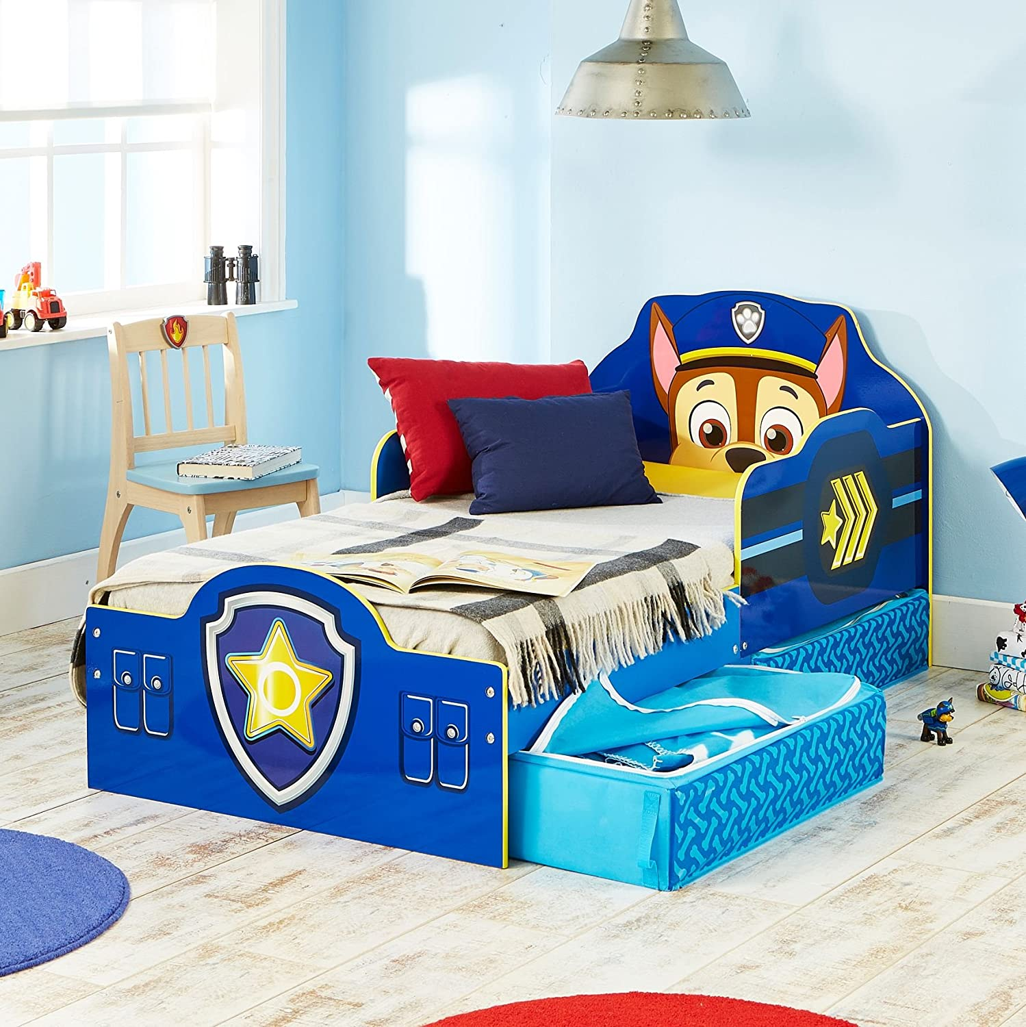 charliewestbluesfest toddler with blue designs ideas storage bed perfect