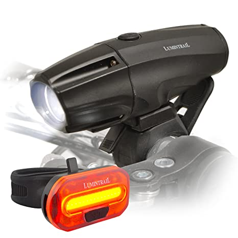Amazon Com Usb Rechargeable 1000 Lumen Bike Headlight Tail Light