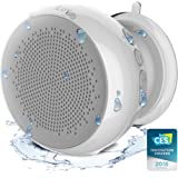 iLuv Portable Outdoor and Shower Bluetooth Speaker with Hands-Free and Rechargeable Battery for iPhone, iPad, Samsung Galaxy Series,Tablet, LG, Google Android phone, other BT Devices and Echo Dot