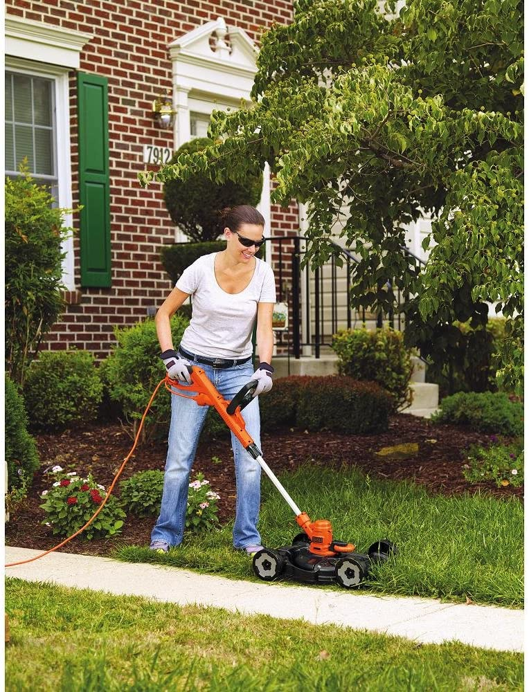 BLACK+DECKER MTE912 3-in-1 Lawn Mower