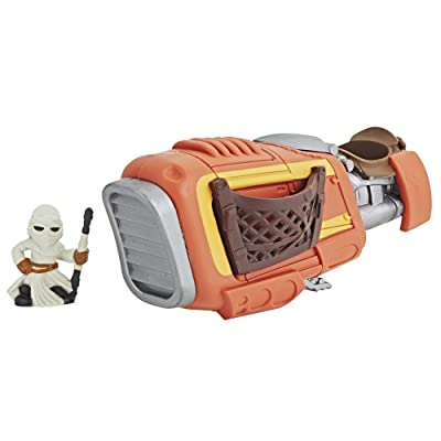 Sw Rey with Speeder Bike: Toys & Games
