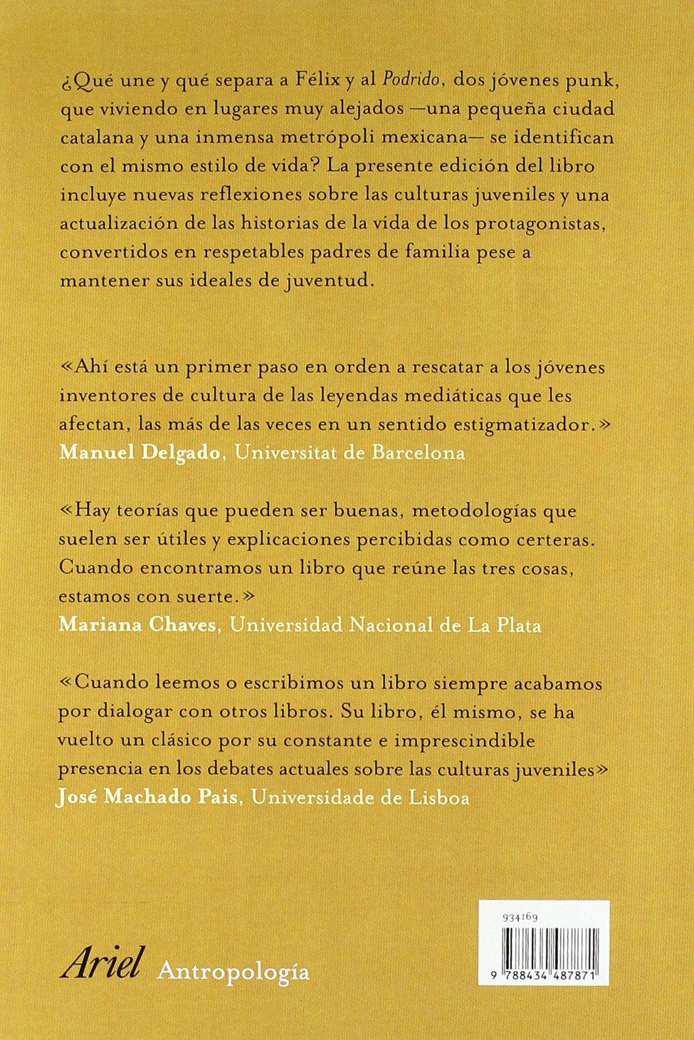 De jóvenes: Carles Feixa: 9788434487871: Amazon.com: Books