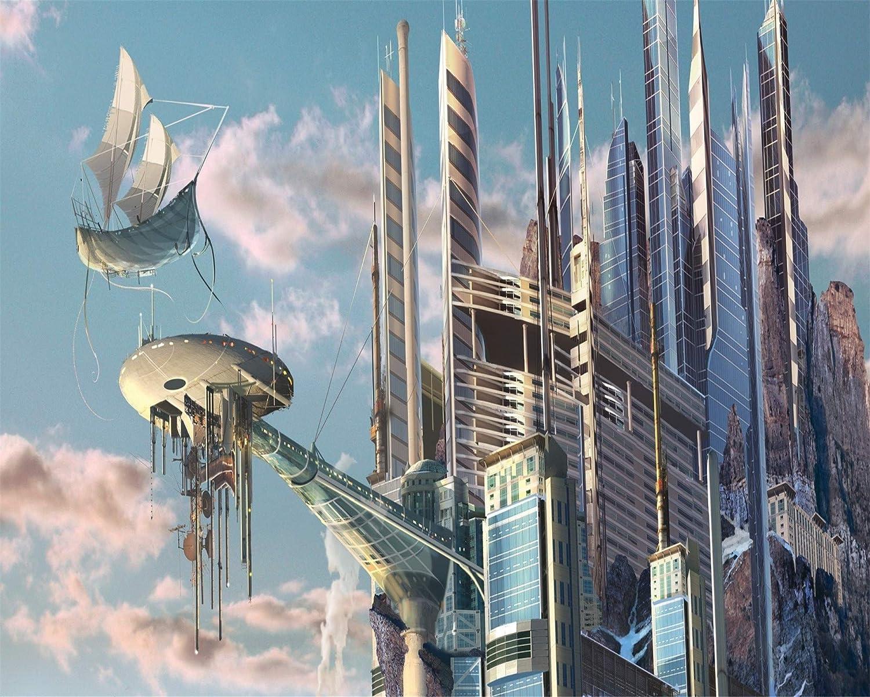 Rompecabezas 3D De Edificios Futuristas De 1000 Piezas ...