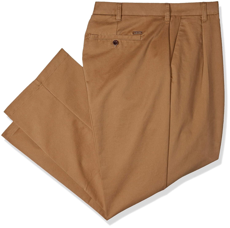 IZOD Mens Big and Tall Performance Stretch Flat Front Pant IZOD Men/'s Sportswear 45X6092