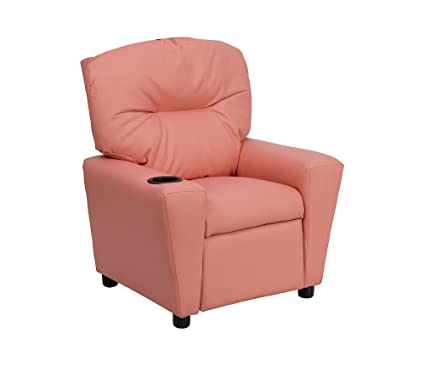 Swell Flash Furniture Contemporaryleathersoft Kids Recliner With Cup Holder Pink Mpn Bt 7950 Kid Pink Gg Machost Co Dining Chair Design Ideas Machostcouk