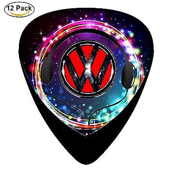 RT Classic celuloide púas de guitarra volkswagen-car-logo 12-Pack, Moto