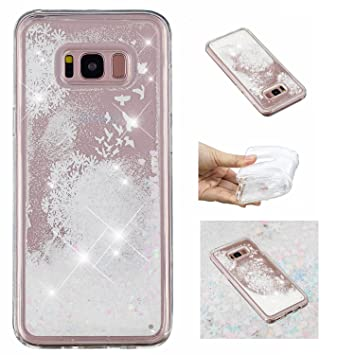 coque galaxy s7 edge paillette liquide