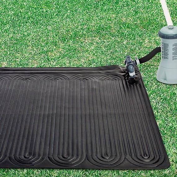 Intex 28685 - Alfombra calentador solar de agua 120 cm: Amazon.es: Jardín