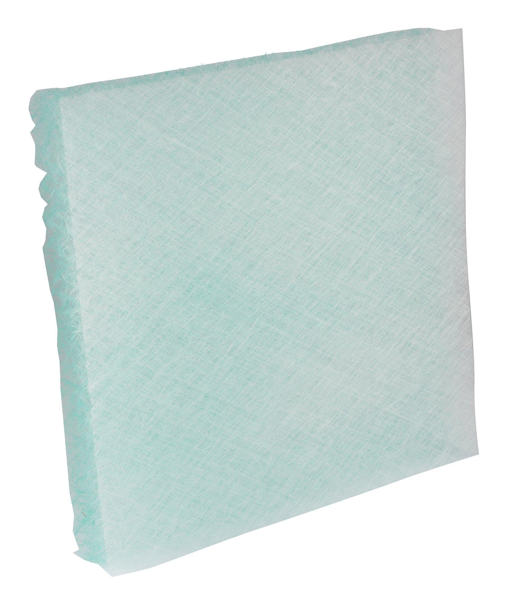 Chemco, 2020250PD, 20''x20''x2'' PD Fiberglass Paint Arrestor Pads 250/Case