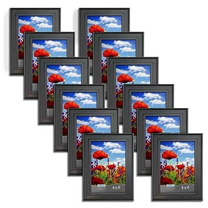 Amazon.com - Icona Bay 4 x 6 Inch Picture Frames (4x6, 12 Pack) Bulk ...