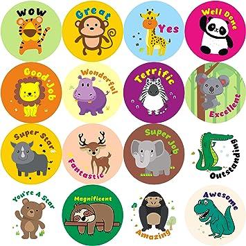 Amazon.com: WATINC - Pegatinas de recompensa para niños ...