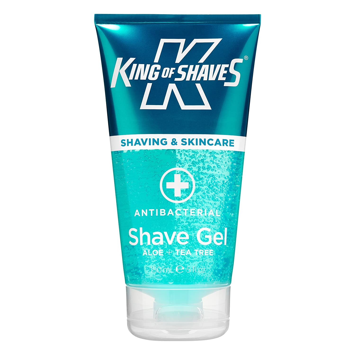 King of Shaves AlphaGel Shaving Gel Sensitive Antibacterial 150ml BeautyCentre 100695436