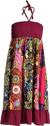 Vestido o Falda Maxi Patchwork con Cinturilla elástica, Aprox. 100 ...