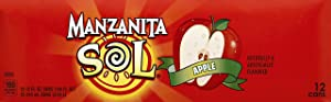 Manzanita Sol Apple Soda, 144 Ounce