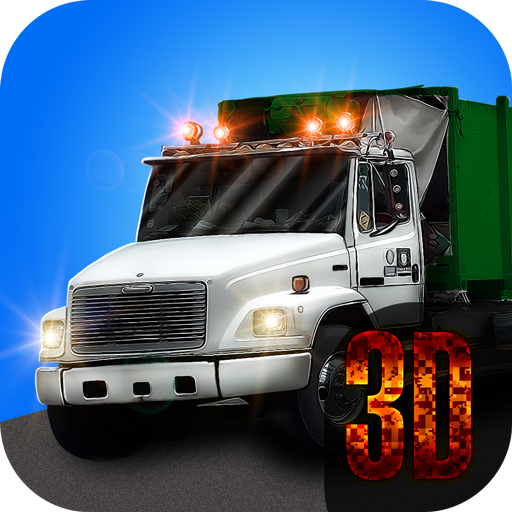Garbage Truck 3D: Clean the City (Highway Dump Truck)