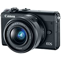 Canon EOS M100 24.2MP Mirrorless Digital Camera with 15-45mm f/3.5-6.3 IS STM Lens - Refurbished