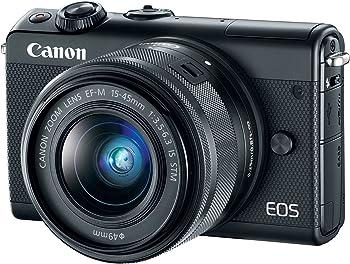 Canon EOS M100 24.2MP Mirrorless Digital Camera w/15-45mm Lens