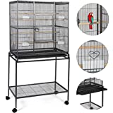 """Giantex Bird Parrot Cage Chinchilla Cockatiel Conure Large W/stand Overall 32""""x18""""x64"""""""
