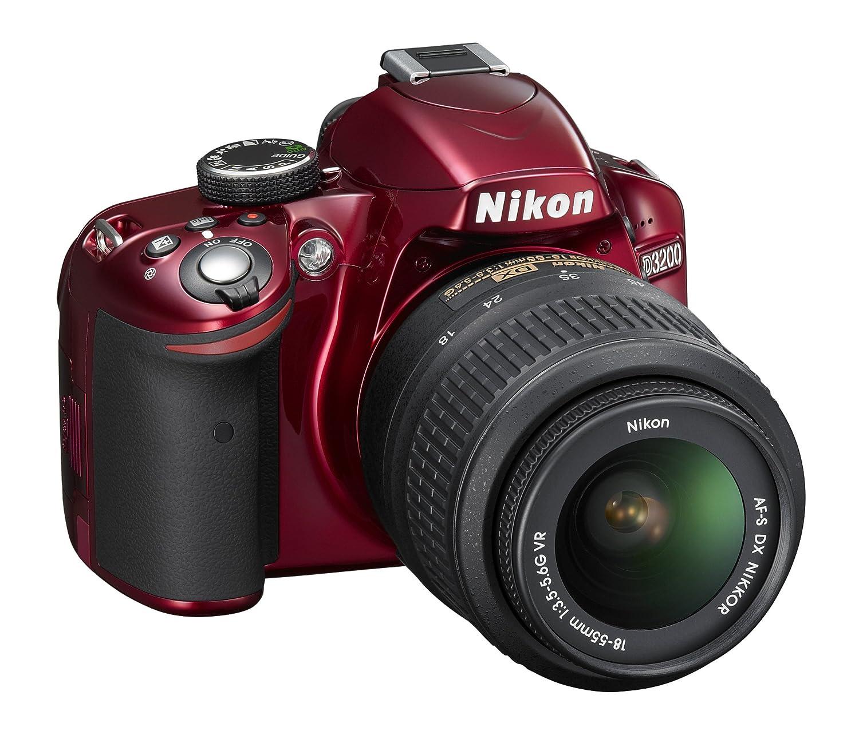 Nikon D3200 18-55 VR Kit - Cámara Digital (24,2 MP, SLR Camera Kit ...