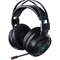 Razer Nari Over-Ear Wireless Bluetooth Gaming Headphones for PC, PS4, Xbox One (Black)