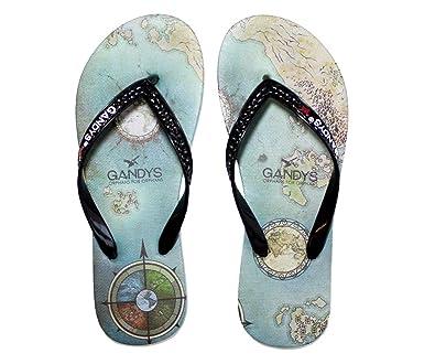 13df6c5b012b Gandys World at Your Feet Mens Flip Flops Size UK 9 10UK  Amazon.co ...