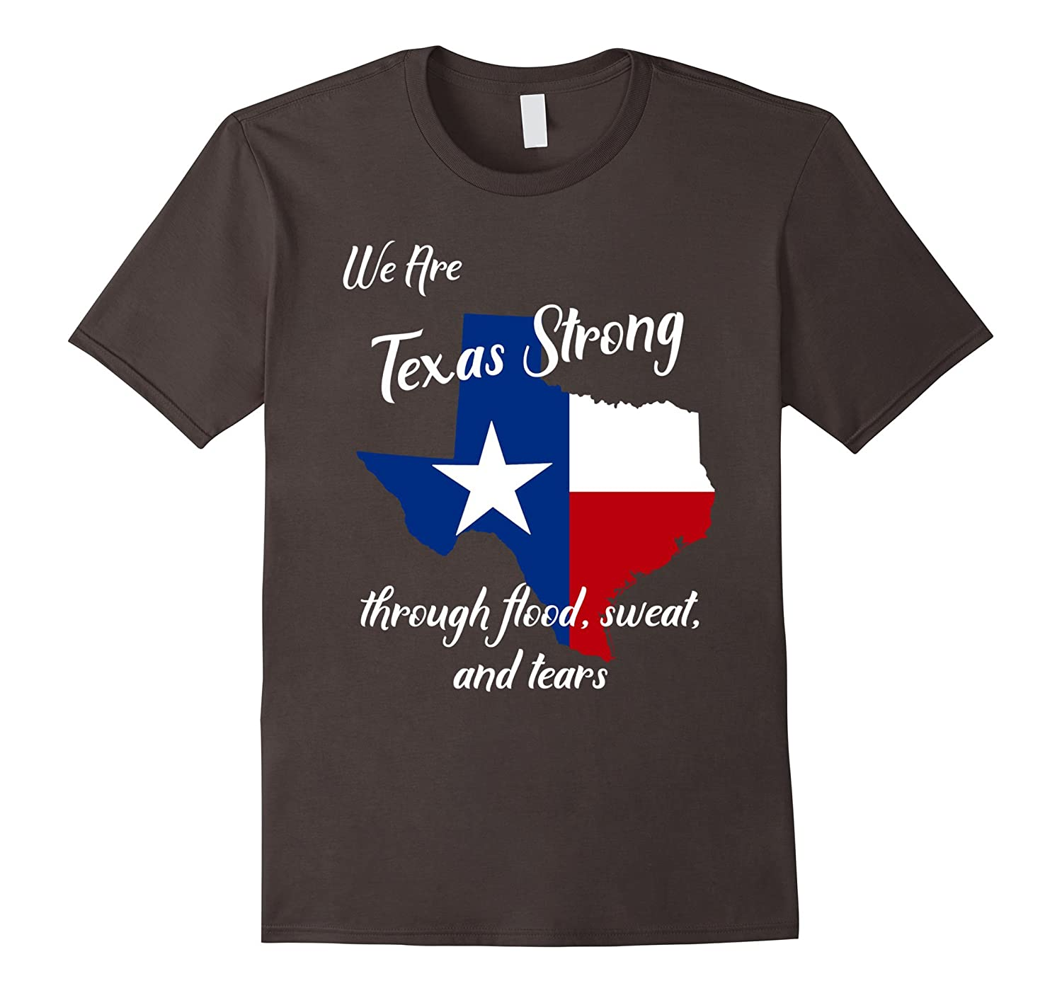 Deep in the Heart of Texas Born and Raised Tee Shirt-CL