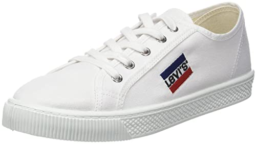 0e4979539e654 Levi s Sportswear MALIBU, Baskets homme, Blanc (Brillant White), 40 EU (