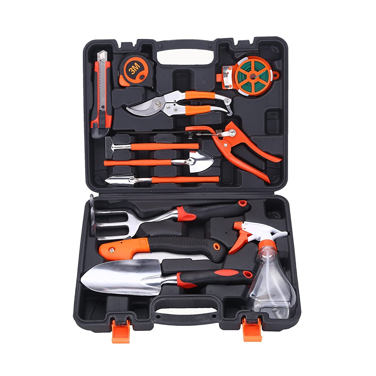 Colmax 13pcs Mixed General Garden Tool Kit Portable Diy