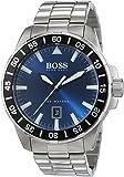 Hugo Boss - 1513230 - Montre Homme - Quartz - Analogique - Aiguilles lumineuses - Bracelet Acier inoxydable Argent