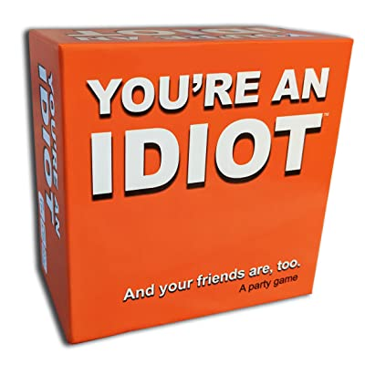 You're an Idiot - an Adult Party Game by TwoPointOh Games: Toys & Games